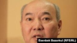 Бакытжан Жумагулов в бытность министром образования и науки Казахстана.