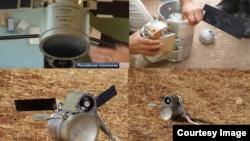 Российские кассетные бомбы, которые используются при бомбардировках Сирии, фото – доклад Conflict Intelligence Team investigation