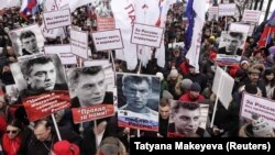 Марш памяти Бориса Немцова в 2019 году