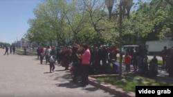 Бишкектеги митинг.