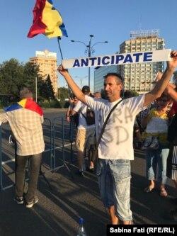 Romania - nou protest antiguvernamental la București, 12 august 2018