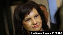 Даниэла Дариткова аз ҳизби ГЕРБ гирифтори корнавирус шудааст