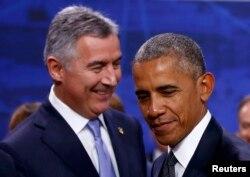 С Бараком Обамой у Мило Джукановича теперь более теплые отношения, чем с Владимиром Путиным