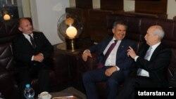 Рөстәм Миңнеханов Чехия рәсмиләре белән, 25 сентябрь 2014