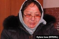 Жительница Шымкента Гульнар Омиралиева.