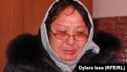 Шымкент қаласының тұрғыны Гүлнәр Өмірәлиева. 13 наурыз 2017 жыл.