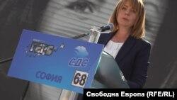 Kryetarja e Sofjes, Yordanka Fandakova.