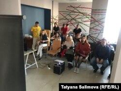 """Показ документального фильма """"Процесс"""" в Томске"""