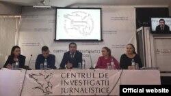 La dezbatarea de la Chișinău (Foto: Centrul de Investigații Junalistice)
