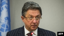 Представник України в ООН Юрій Сергеєв