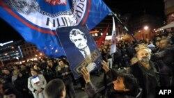 Protestë në Beograd...