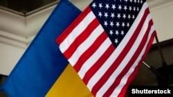 АҚШ ва Украина байроқлари
