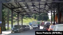 Granični prelaz između Kosova i Crne Gore - ilustracija