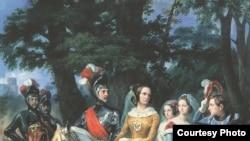 «Царскосельская карусель», Орас Верне, 1843 год