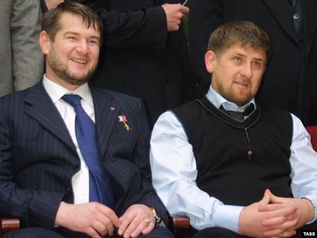 Сулим Ямадаев и Рамзан Кадыров