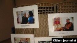 Акция Коалиции против пыток в Таджикистане выставила фотографии жертв пыток