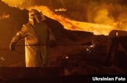 Стальное производство имени Ильича в городе Мариуполе