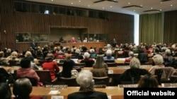 России в 2004 году, это был чрезвычайный съезд, призванный отметить положение в области прав человека