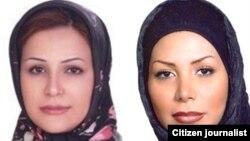 Neda Soltani (lijevo) i Neda Agha Soltan (desno)