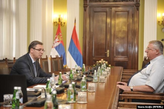 Nekada najbliži saradnici: Aleksandar Vučić i Vojislav Šešelj