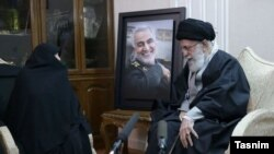 Iran Supreme Leader visiting family of General Soleimani on Friday evening to offer condolences.