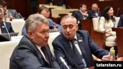 На сессии Госсовета Татарстана. 21 сентября 2017 года