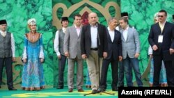 Истанбул мэры Сабантуй ачылышында чыгыш ясый