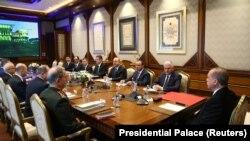 Թուրքիայի նախագահ Ռեջեփ Էրդողանի նախագահությամբ հանդիպում՝ Անվտանգության հարցերի շուրջ, արխիվ