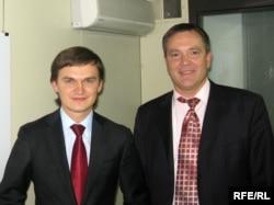 Народні депутати Валерій Писаренко та Вадим Колесніченко, Київ, листопад 2008 року