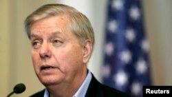 Сенатор Линдси Грэм.