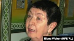 Екатерина Кузнецова, автор книг о сталинских репрессиях в Казахстане.