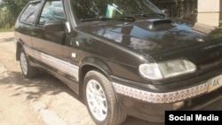 Автомобіль з вишиванкою, що належить кримському дизайнеру Лізі Богуцькій