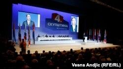 Obraćanje Vučića na izbornoj skupštini SNS-a