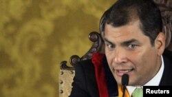 Эквадордун президенти Рафаэл Корреа