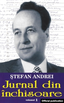 Romania - cover book Ștefan Andrei Diary