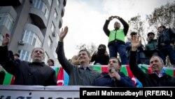 Milli Şuranın aksiyası - 9 noyabr 2014