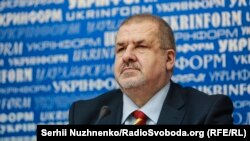 Refat Chubarov, chairman of the Mejlis