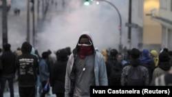 Антиправительственные беспорядки в Кито