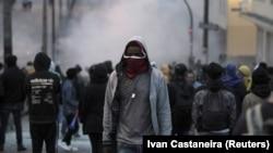 Demonstracije na ulicama Kita, Ekvador
