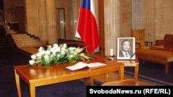 Книга соболезнований в посольстве Чешской республики