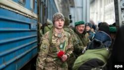 Ukrajinski vojnici po povratku sa ratišta na istoku