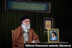 Khamenei gjatë adresimit të tij për Vitin e Ri Persian.