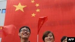 На репетиции праздника 60-летия образования КНР в Хэфэе