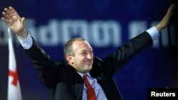 Results show Giorgi Margvelashvili winning around 62 percent of the vote. (file photo)