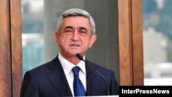 Арманистон президенти Серж Саргсян.