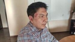 Азия: избиение журналиста
