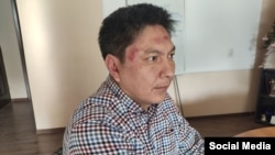 Bolot Temirov was attacked near his website's office in Bishkek in January 2020.