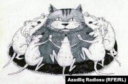 Şabaş. Rəşid Şerifin karikaturası