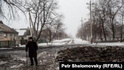 Дебальцево после обстрела. 30 января 2015