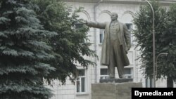 Помнік Леніну ў Слоніме.